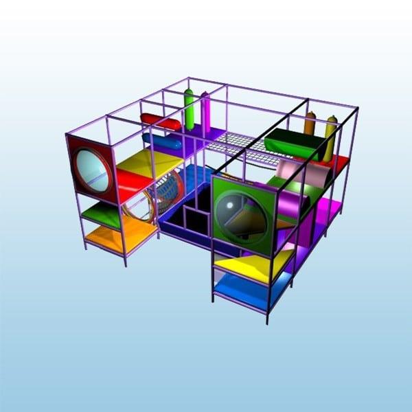 Brinquedão Kid Play A6 - Brinquedos para buffet infantil